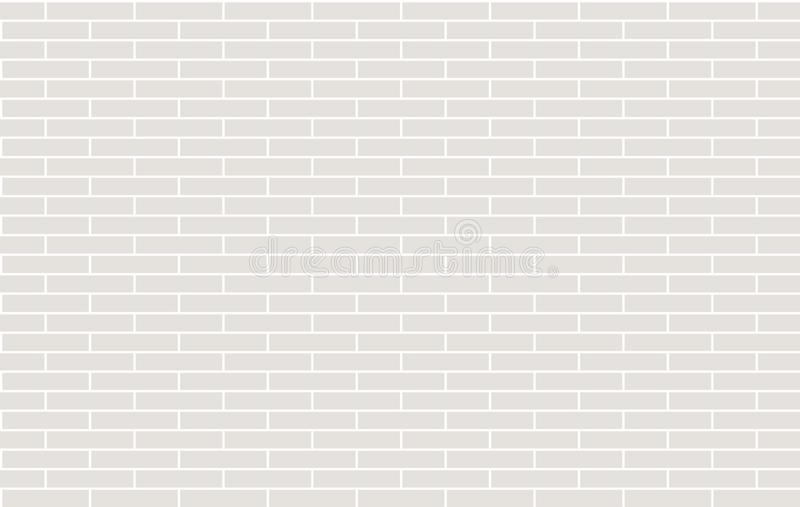 Bakstenen muur achtergrondvector stock illustratie