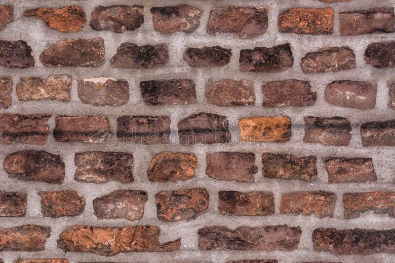 Bakstenen muur als achtergrond stock foto