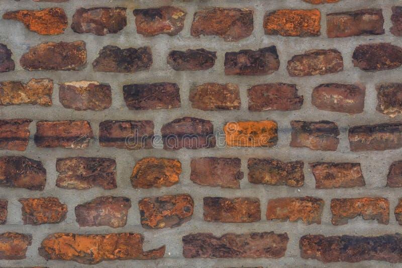 Bakstenen muur als achtergrond royalty-vrije stock afbeeldingen