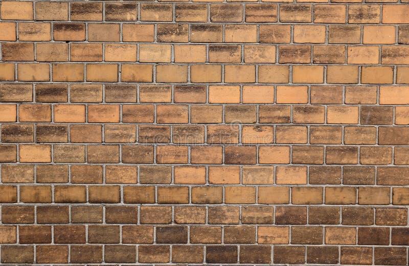 Bakstenen muur als goede textuur stock afbeelding