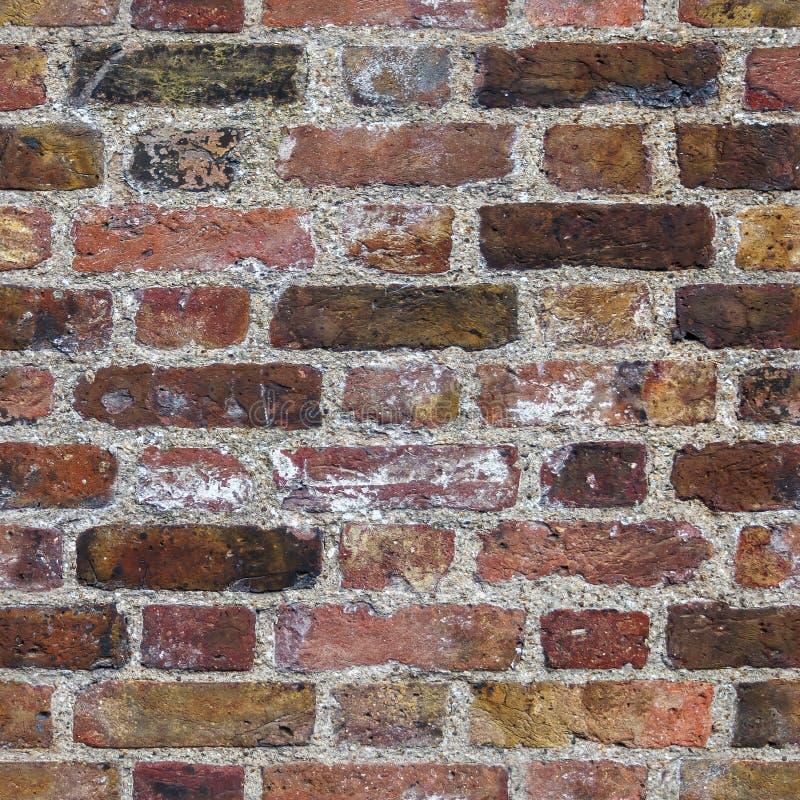 Bakstenen muur naadloze textuur royalty-vrije stock fotografie