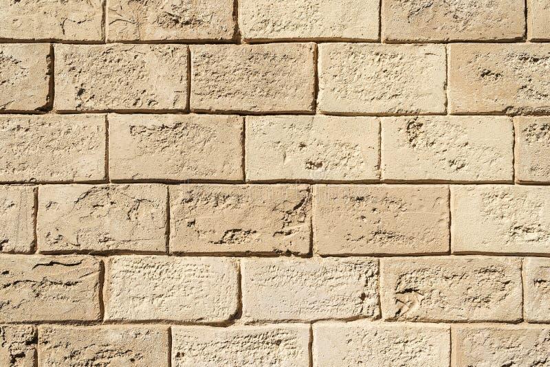 Bakstenen muur van schaaldieren wordt gemaakt dat stock afbeeldingen