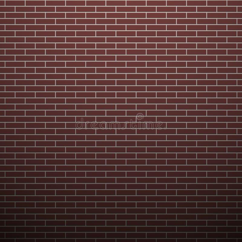 Bakstenen muurachtergrond royalty-vrije illustratie