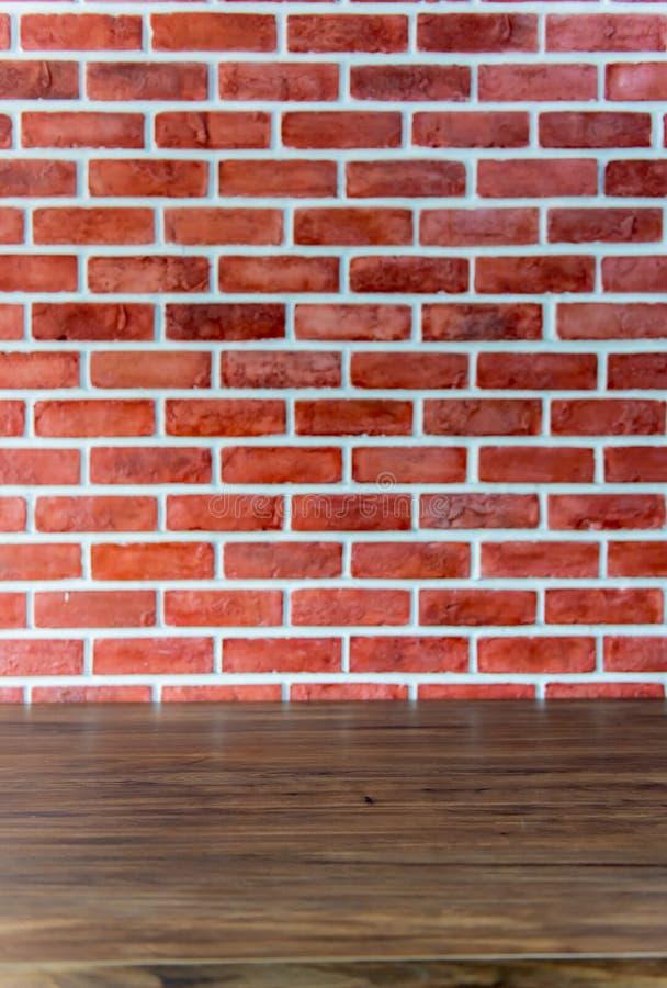Bakstenen muurachtergrond Binnenlandse en buitentextuur stock foto
