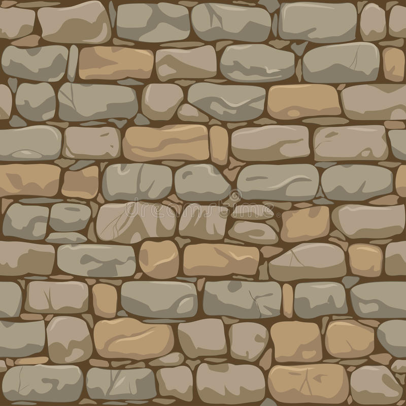 Bakstenen muurpatroon vector illustratie