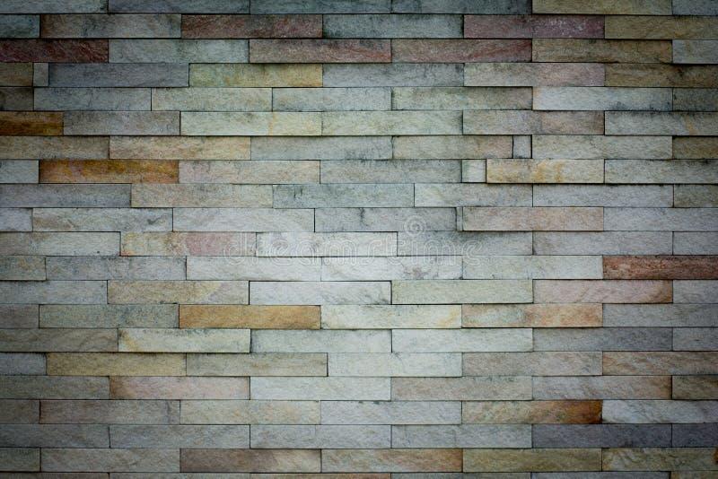 bakstenen muurtextuur Architecturale achtergrond royalty-vrije stock foto