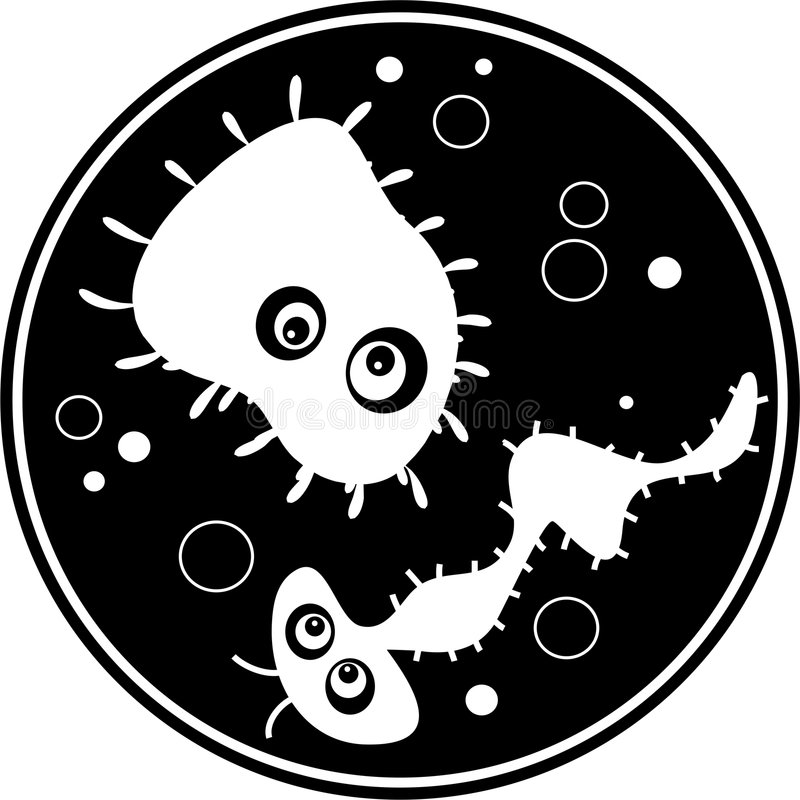 bakterie ilustracja wektor