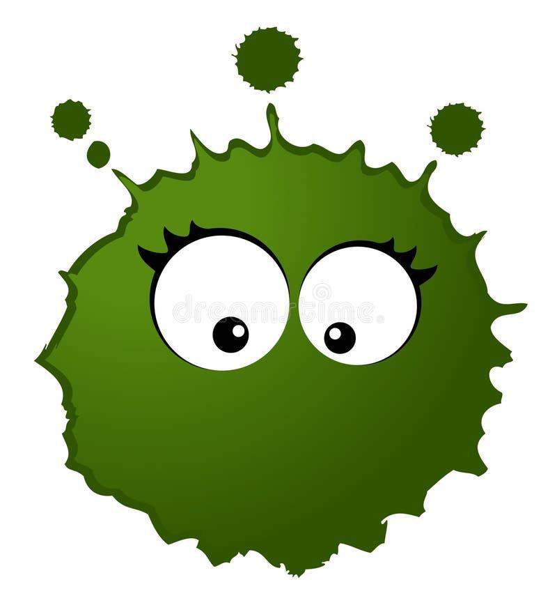 bakterievirus vektor illustrationer