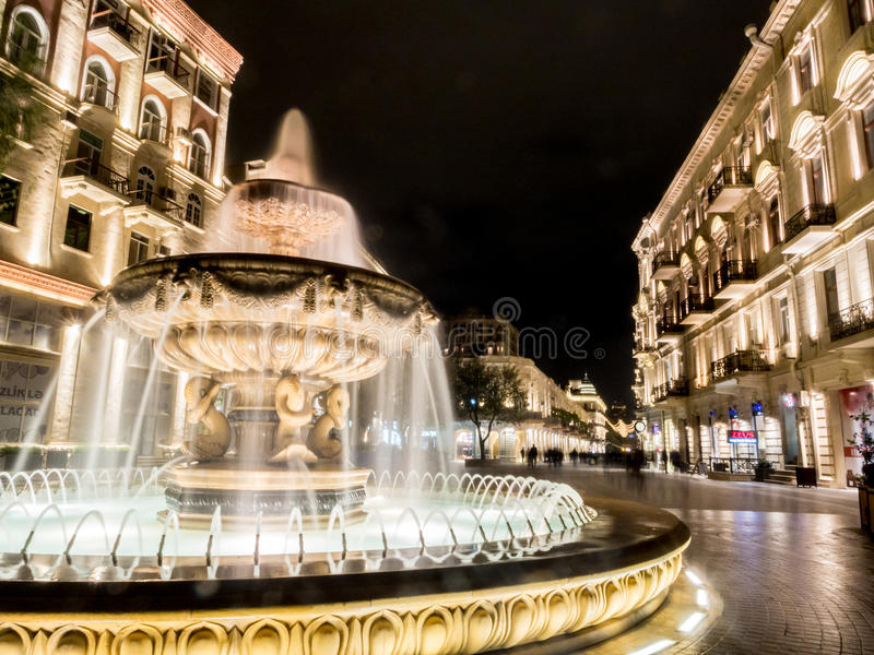 Baku obrazy royalty free