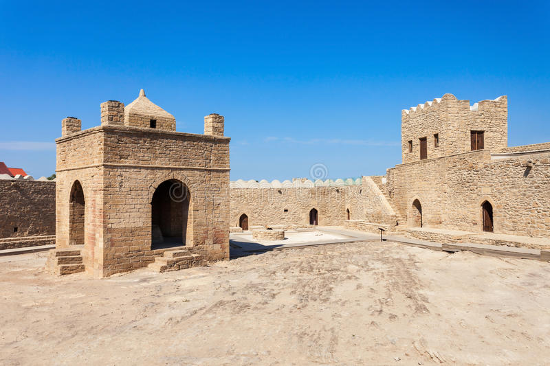 Baku Ateshgah Fire Temple image stock