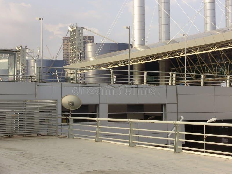 Baku-Autobusstation lizenzfreies stockbild