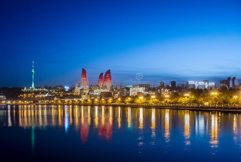 Baku Azerbejdżan fotografia royalty free