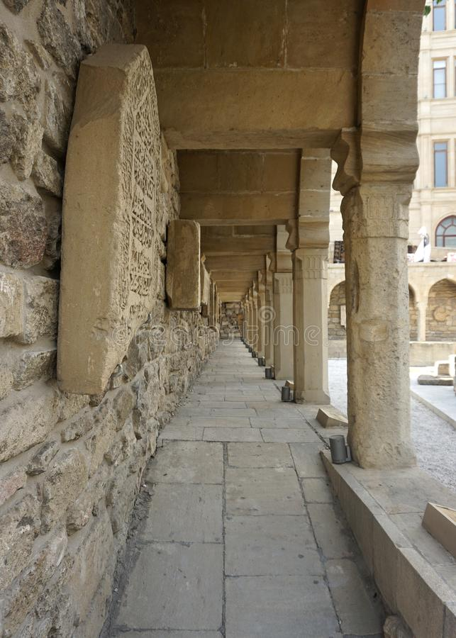 Baku Bazaar Square imagens de stock royalty free
