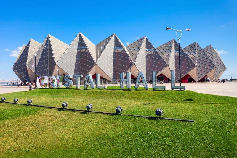 Baku Crystal Hall, Baku foto de archivo