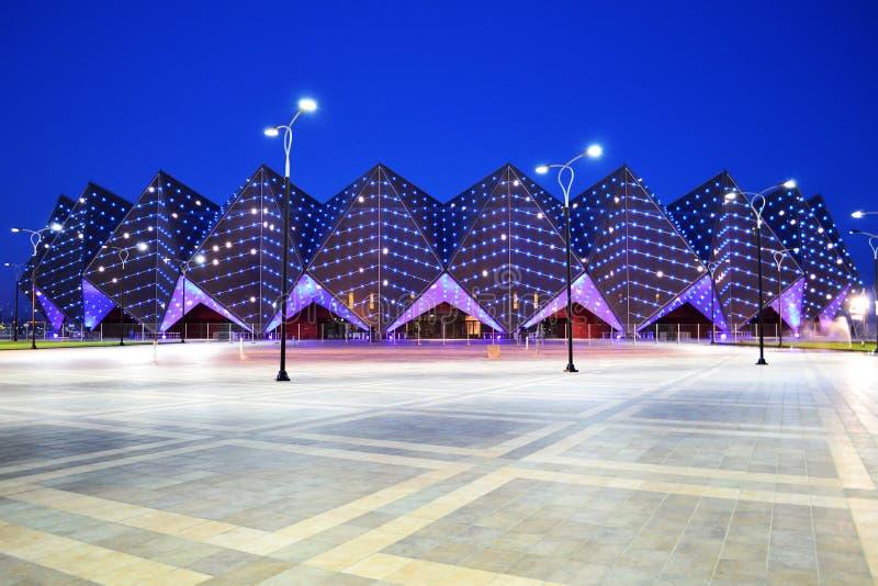 Baku Crystal Hall. Is an indoor arena in Baku, Azerbaijan stock photos