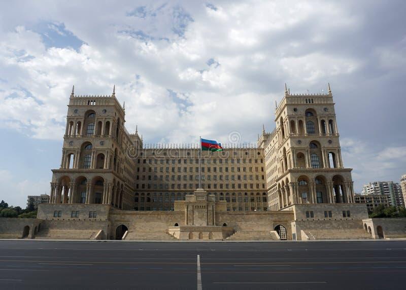 Baku Government House fotos de archivo libres de regalías