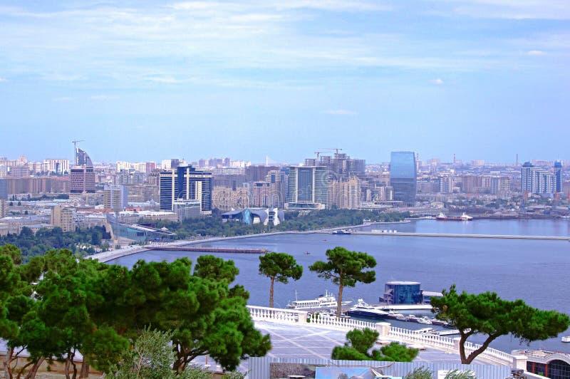Baku:Land of fire stock image