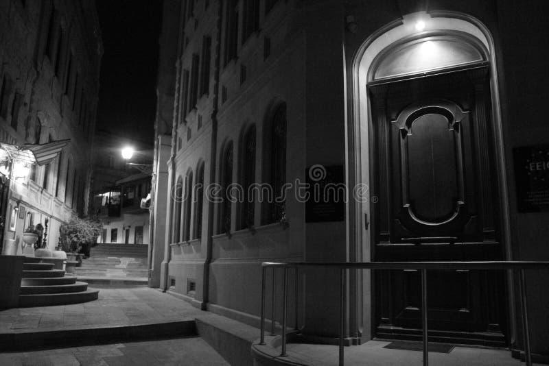 Baku By Night photo libre de droits
