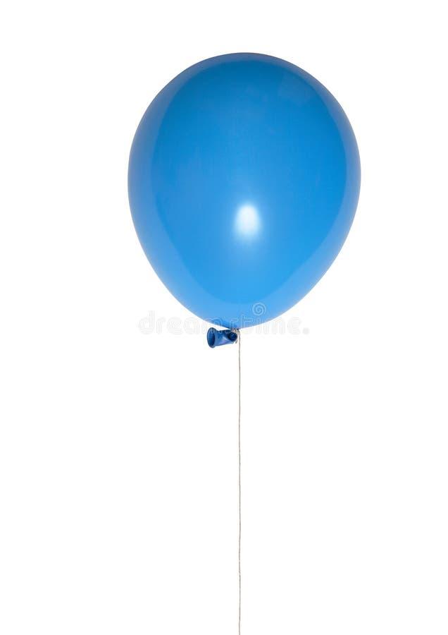 Balão azul foto de stock