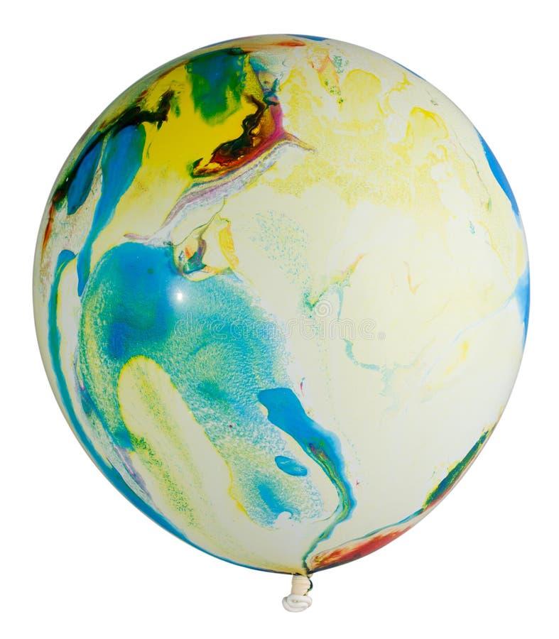Balão colorido inchado fotos de stock royalty free