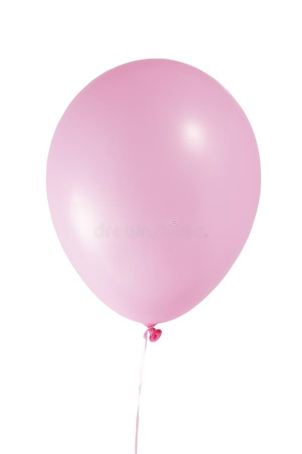 Balão cor-de-rosa fotografia de stock royalty free