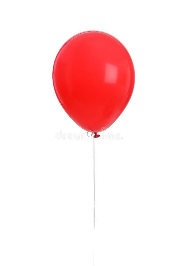 Balão da cor no fundo branco foto de stock royalty free