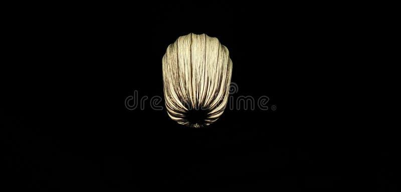 Balão da vela da noite imagens de stock