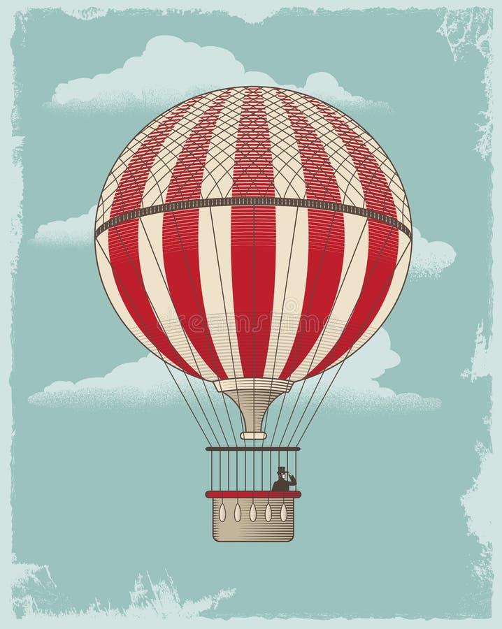 Balão de ar ilustração royalty free