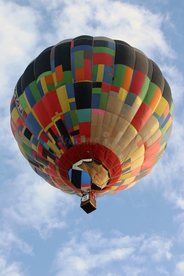 Balão de ar quente 02 imagem de stock royalty free