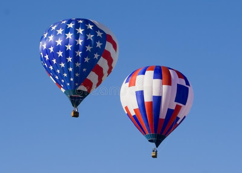 Balão de ar quente 0707 imagens de stock royalty free