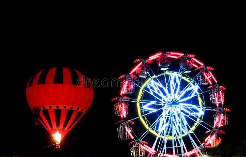 Balão de ar quente fotografia de stock royalty free