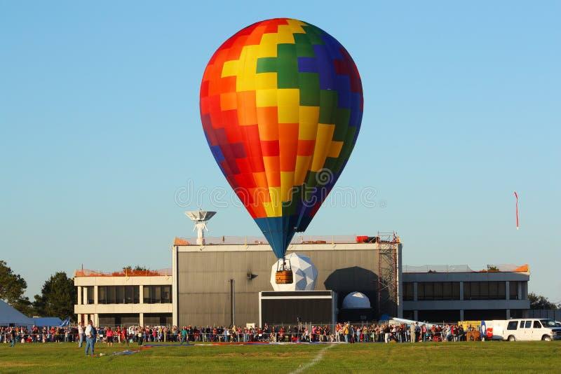Balão de ar quente na NASA fotos de stock royalty free