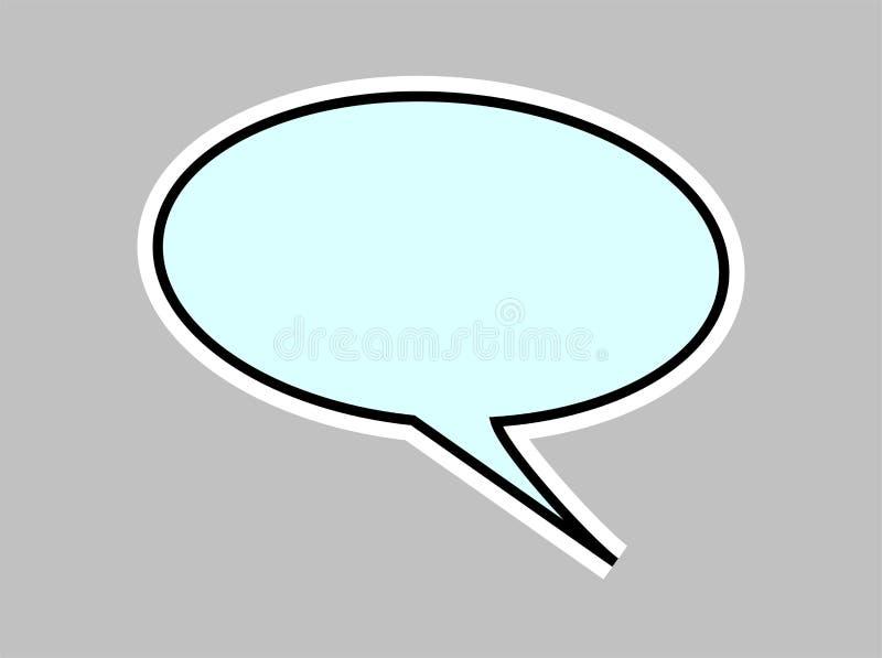 Balão de discurso ilustração do vetor