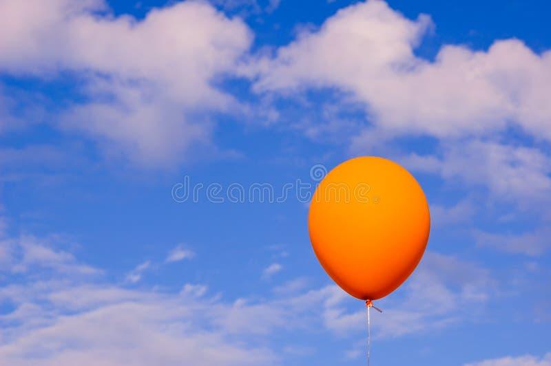 Balão e o céu fotos de stock