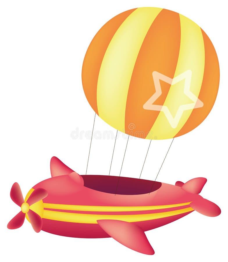 Balão Hot-air ilustração do vetor