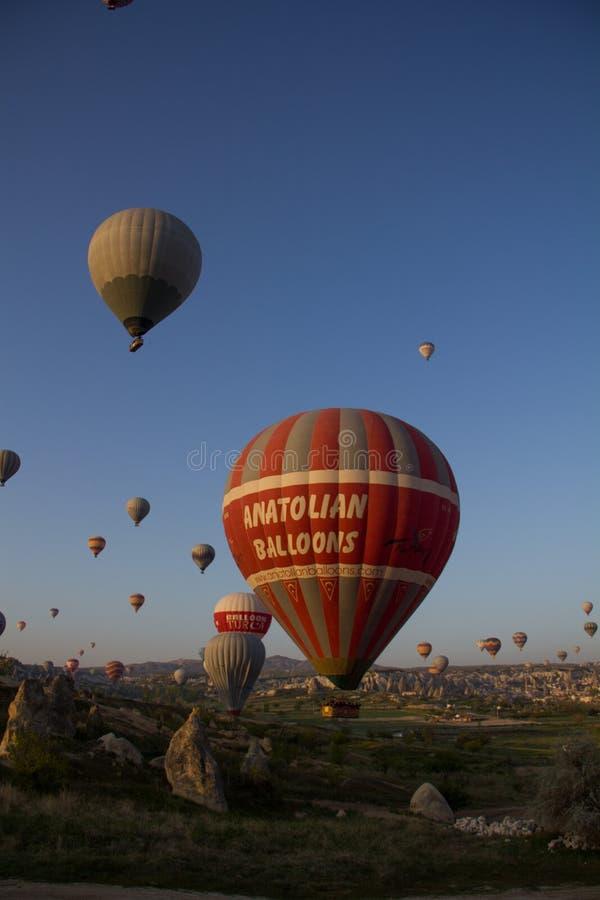 Balão no céu foto de stock