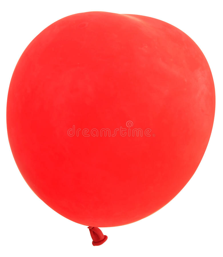 Balão vermelho imagens de stock
