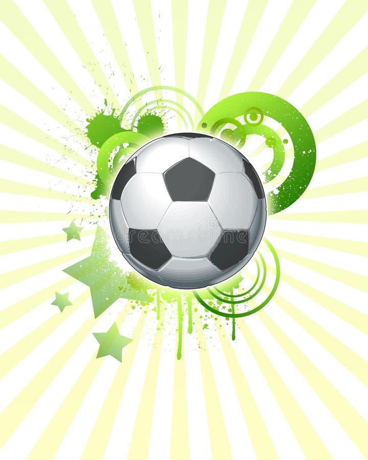 Balón de fútbol 07 stock de ilustración