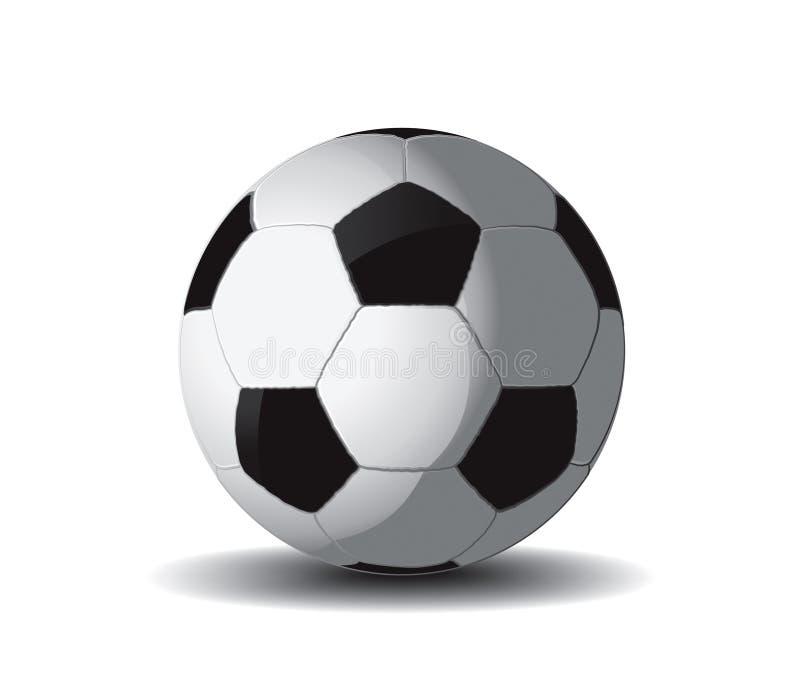 Balón de fútbol 2 stock de ilustración