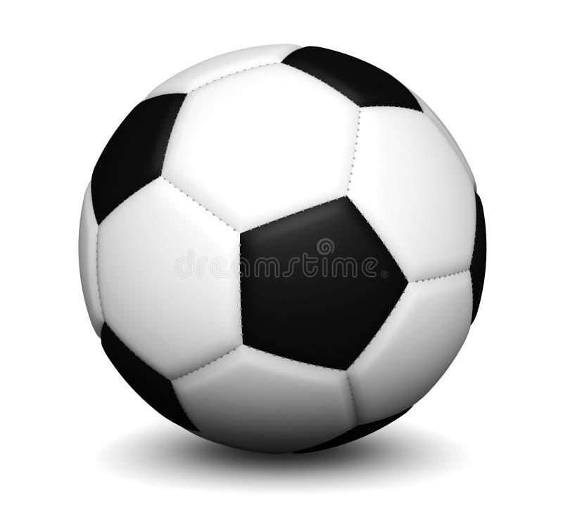Download Balón de fútbol del fútbol foto de archivo. Imagen de recreacional - 41911546