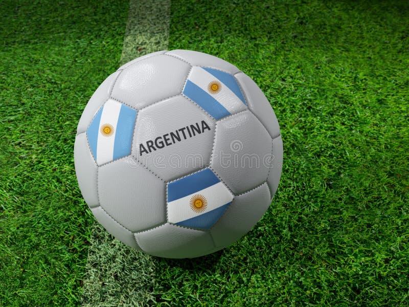 Balón de fútbol de la Argentina libre illustration