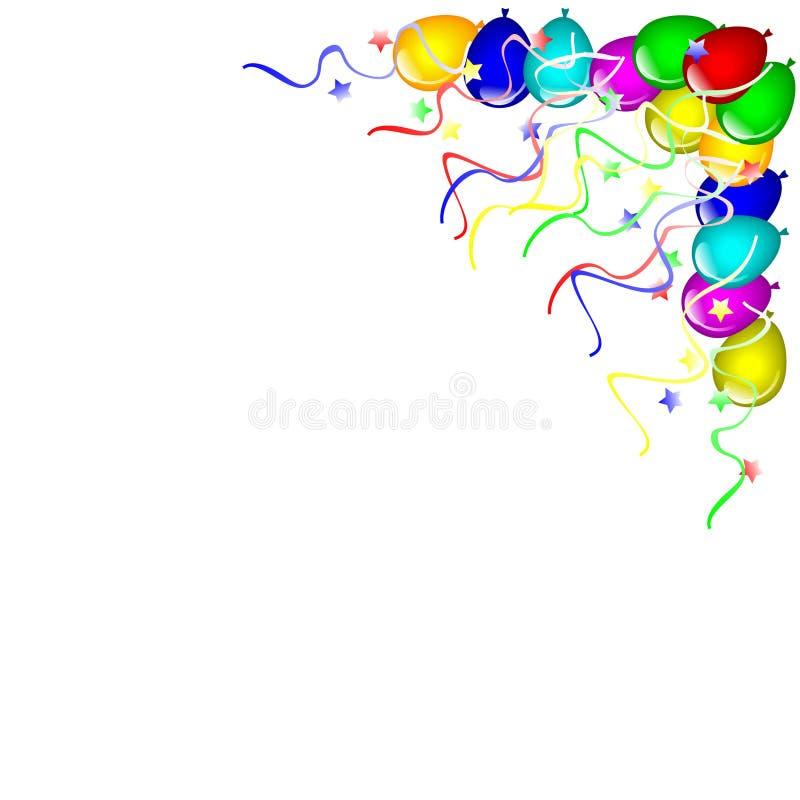 Download Balões ilustração do vetor. Ilustração de roxo, vermelho - 10055375