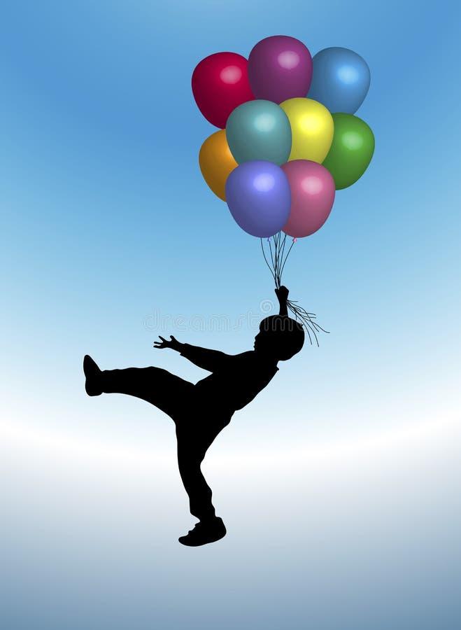 Balões 5 ilustração do vetor