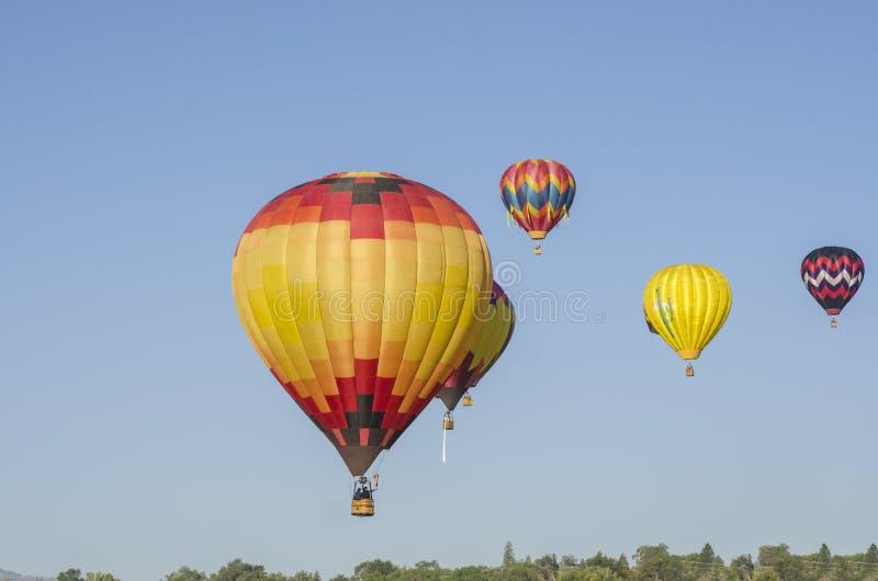 Balões abundantes imagens de stock