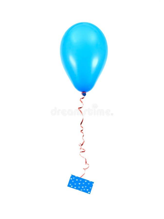 Download Balões azuis imagem de stock. Imagem de mosca, objeto - 16865063