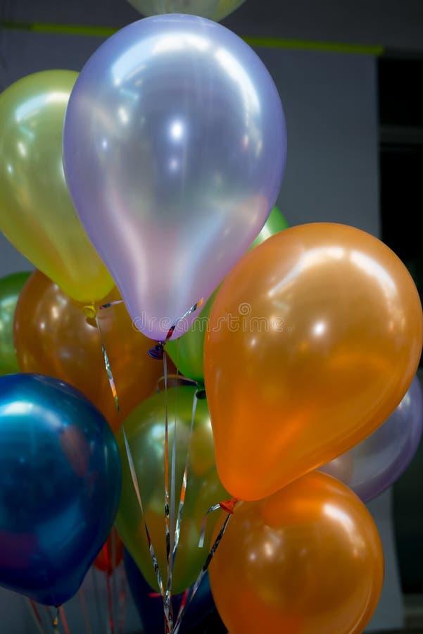 Balões, balão colorido imagens de stock royalty free