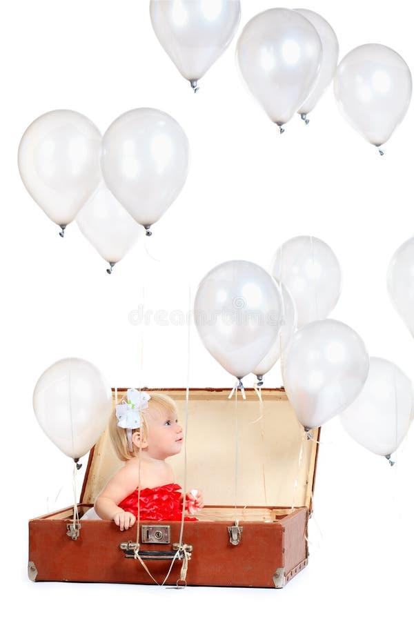 Balões cinzentos imagem de stock