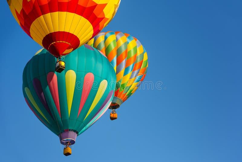 Balões de ar quente foto de stock royalty free