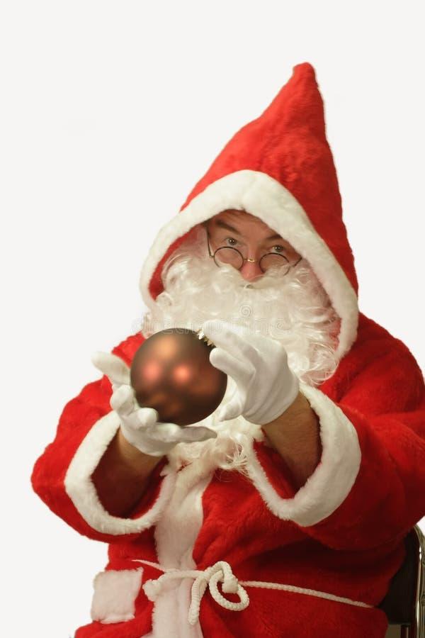 bal świąt Mikołaj zdjęcia stock