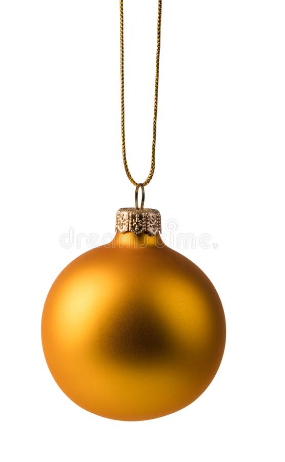 Bal Χριστουγέννων στοκ φωτογραφία